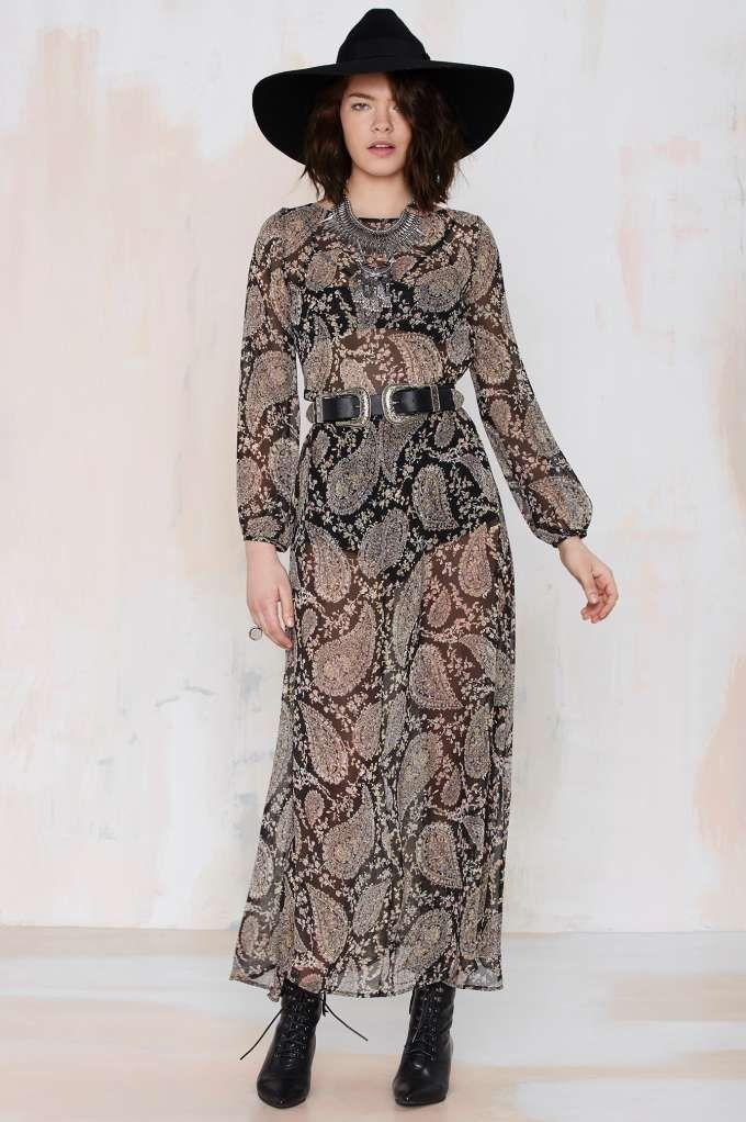 After Party Vintage Madison Chiffon Dress