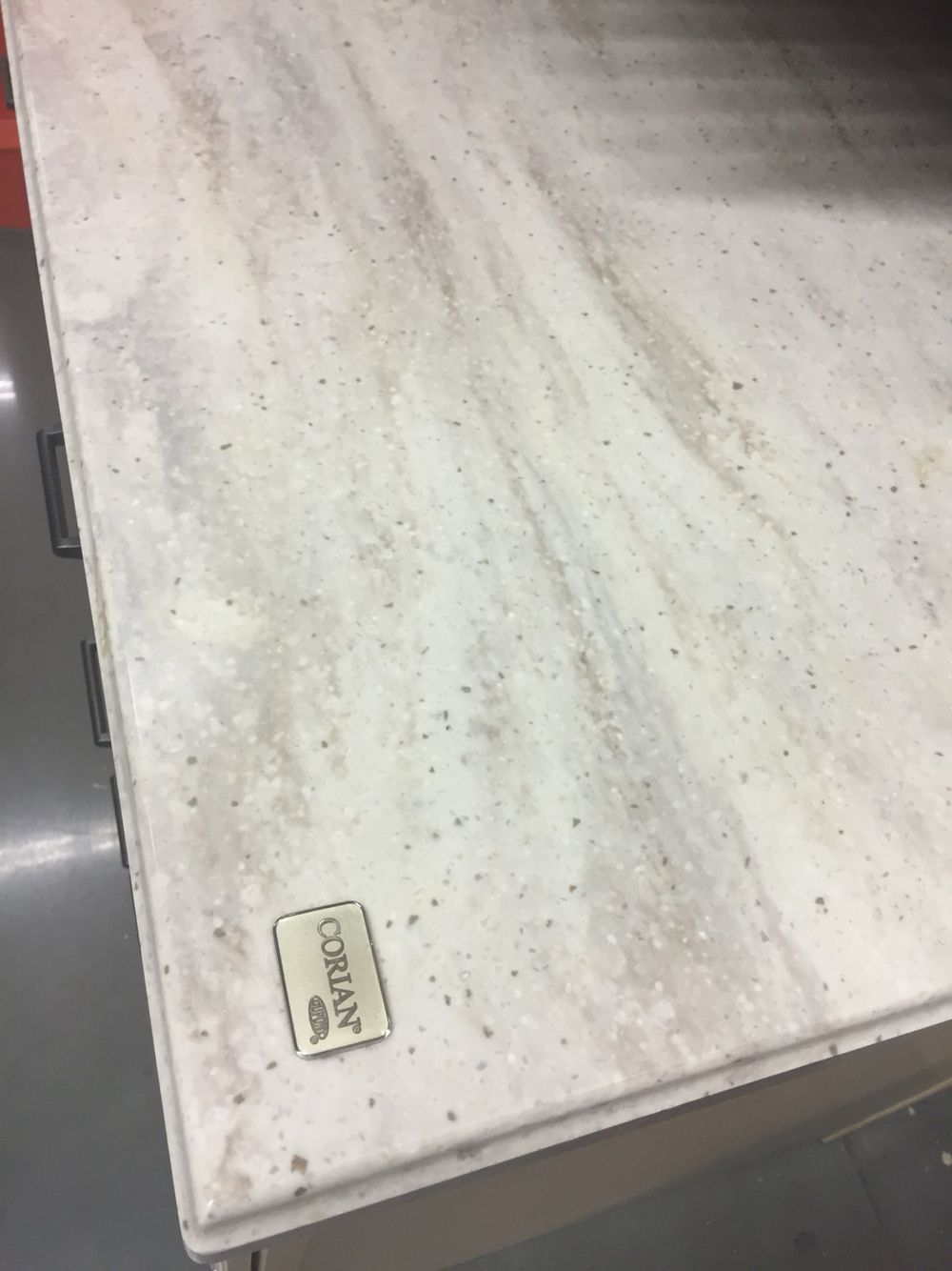 Corian Sea Salt In 2019 Countertops Corian Kitchen