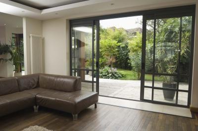 window treatments for sliding doors | Patio doors, Sliding glass ...