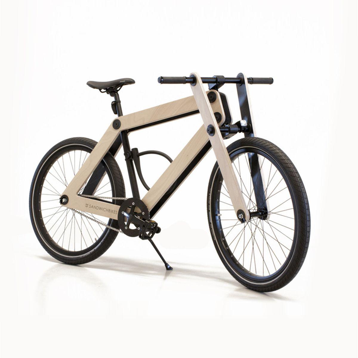 Sandwichbikes Wooden Bike Bicycle Bike Design