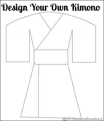 make your own passport template - design your own kimono learning about japan at home