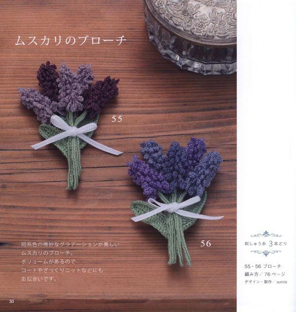 PATRONES GRATIS DE CROCHET: Patrón gratis de unas bellas flores de ...
