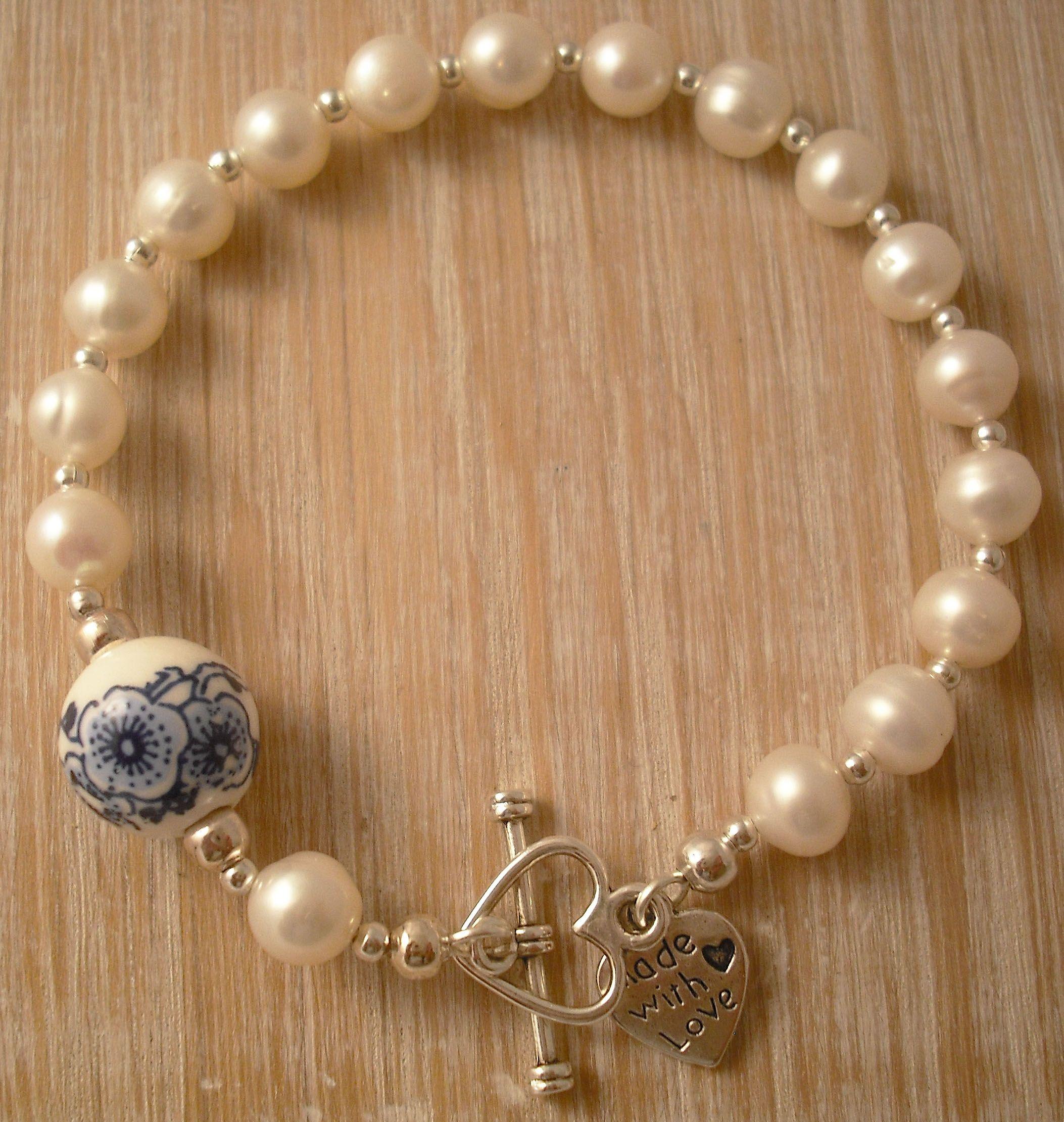 Ceramic bracelet blue, £50.00