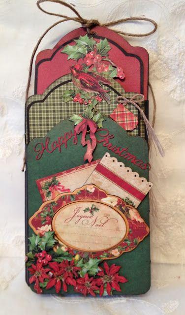 12 days of Christmas tags