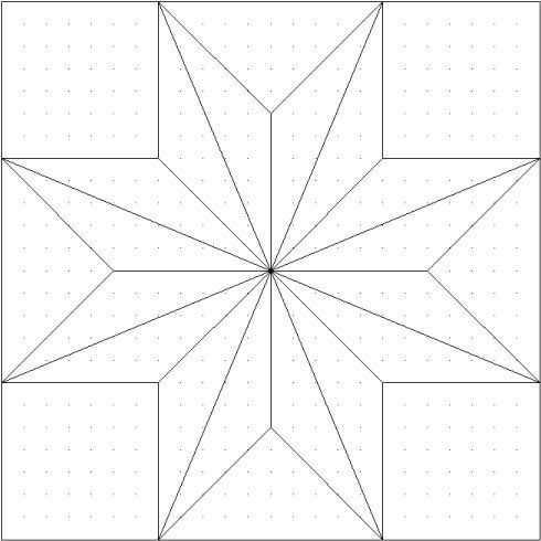 Paper Pieced Star | Sterne + Miniquilts | Pinterest | Sterne