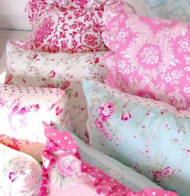 kissen mit bl mchen print kids m dchenzimmer. Black Bedroom Furniture Sets. Home Design Ideas