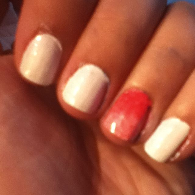 My Dark to light faded nail fail