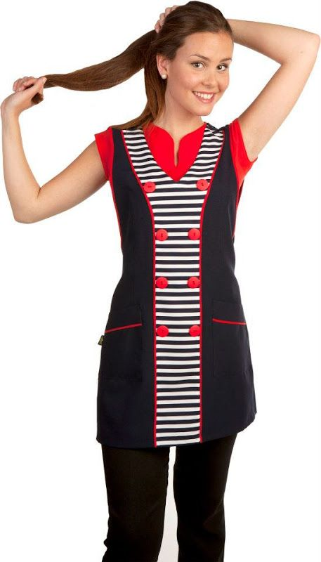 Resultado de imagen para uniformes modernos para maestras - Uniformes sanitarios modernos ...