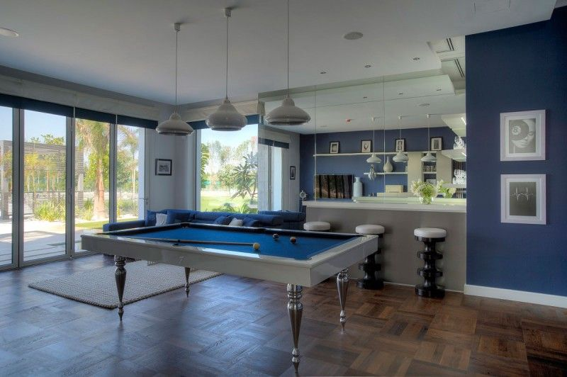 Inspiring Game Rooms Decorating Ideas Pool Table Room Room Layout Formal Living Rooms