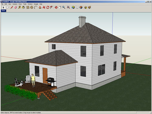 House Design Using Google Sketchup Part 88