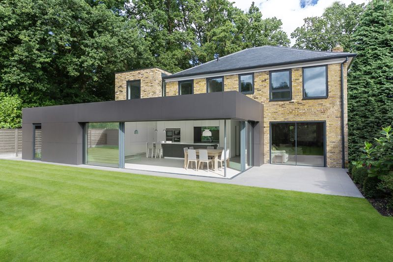 Extension mobili ~ London house extensions reveal the line between old and new