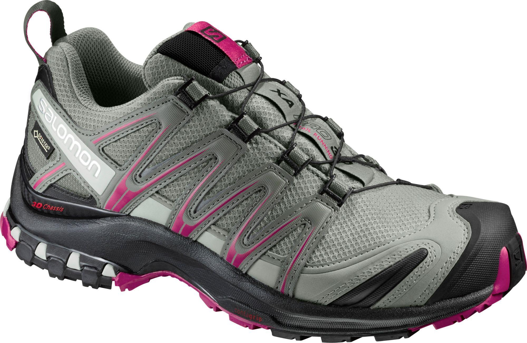 Salomon Women's XA Pro 3D GTX Waterproof Hiking Shoes, Size