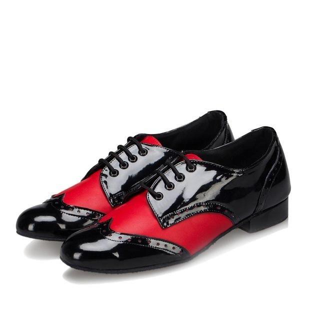 Men/'s ballroom dancing shoes adult Latin dance shoes soft outsole square shoes