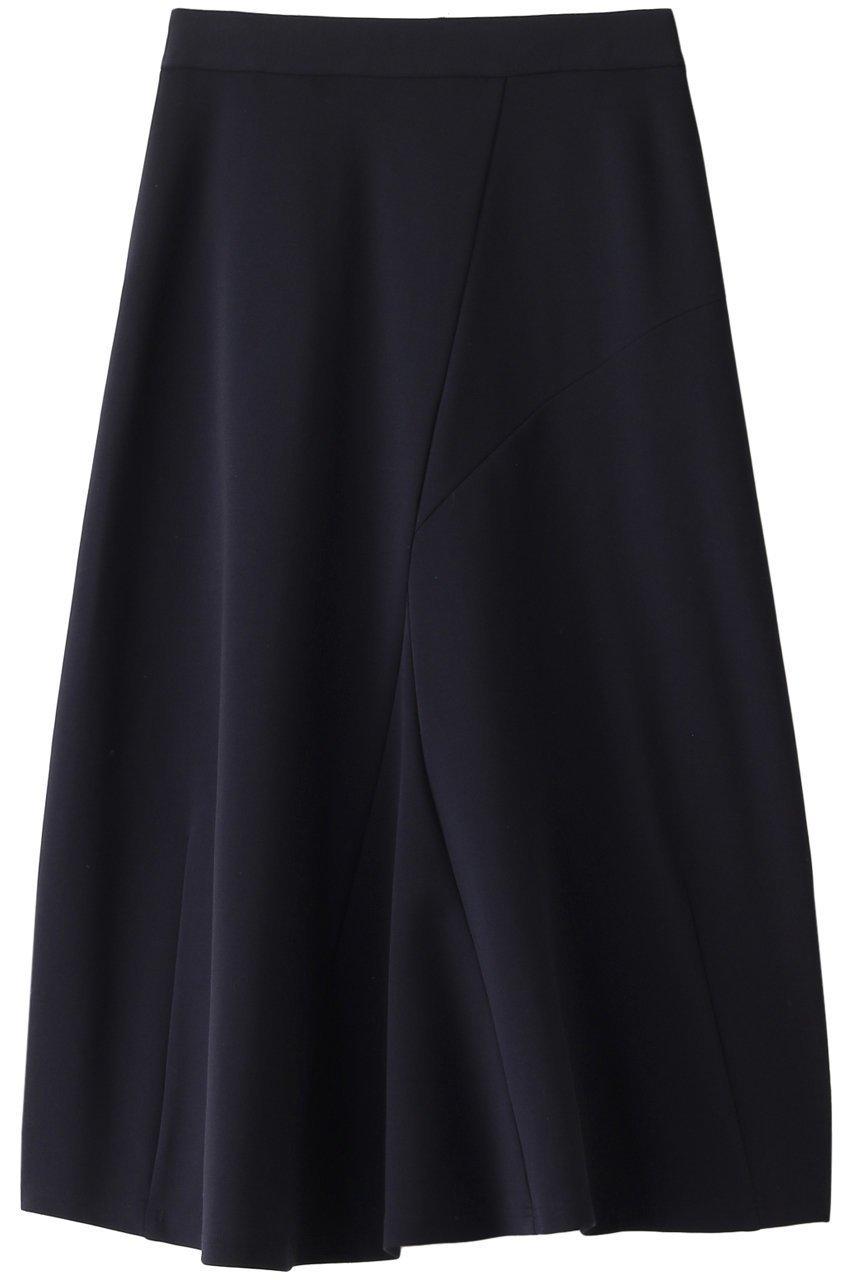 【08サーカス/08sircus】のハイツイストストレッチポンチアシンメトリースカート インテリア・キッズ・メンズ・レディースファッション・服の通販 founy(ファニー) ファッション Fashion レディース Women スカート Skirt ロングスカート Long Skirt ストレッチ ロング 定番 シンプル ネイビー