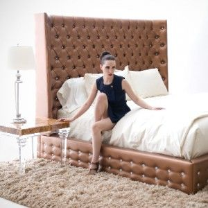 Duroque West Hollywood Ca Contemporary Bed Bed Furniture