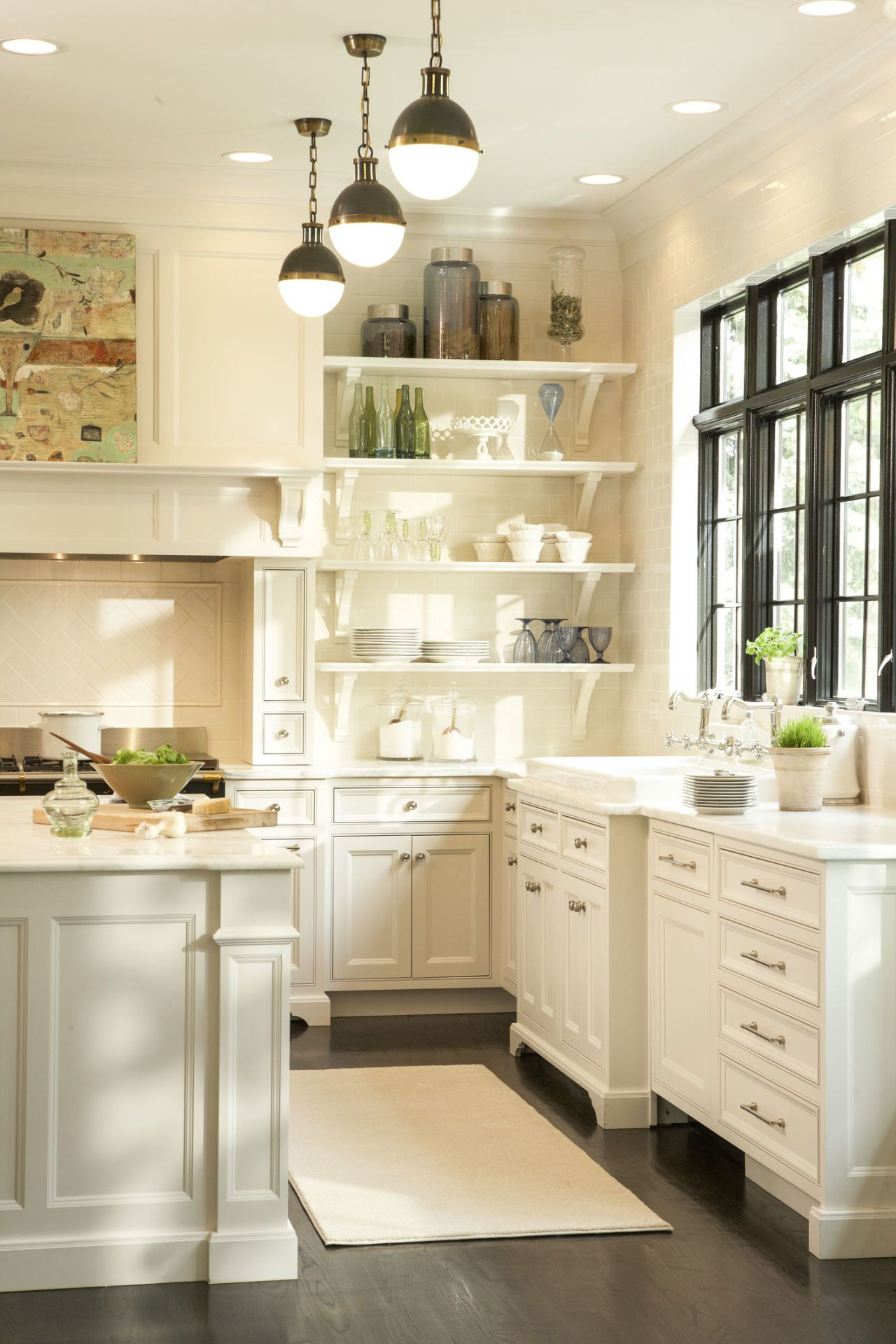 The Problem With All-White Kitchens That No One Will Tell You About ...