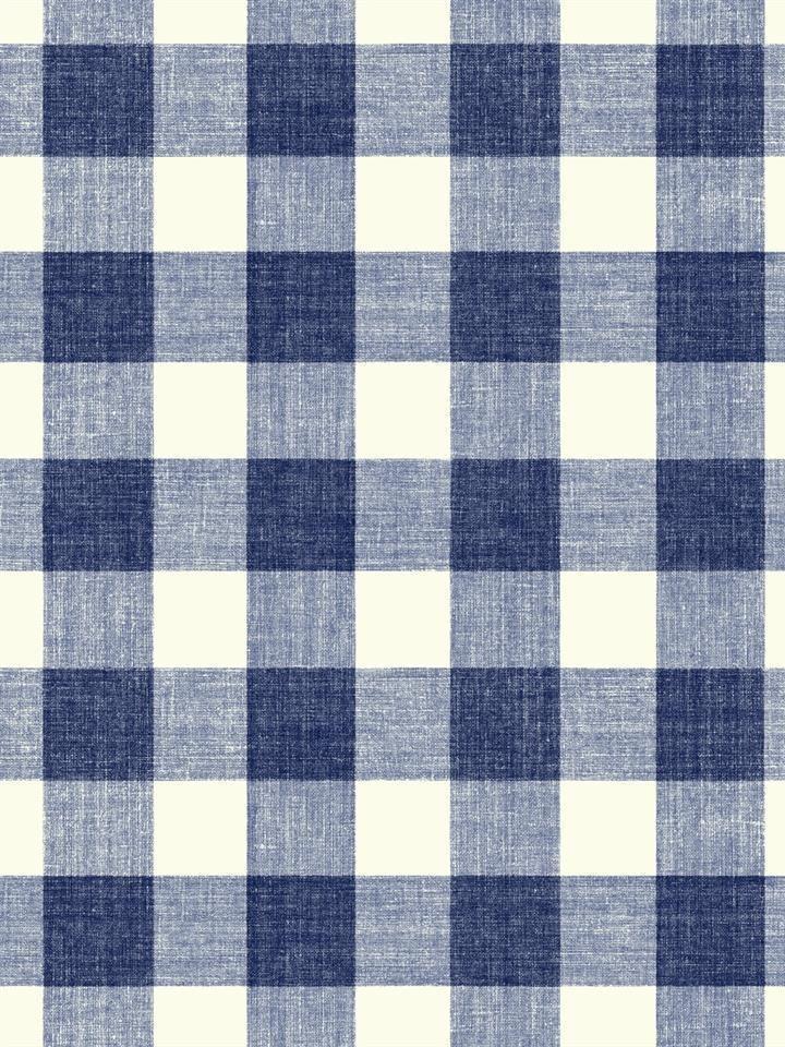 Wallpaper Designer Navy Blue and Eggshell White Boxer