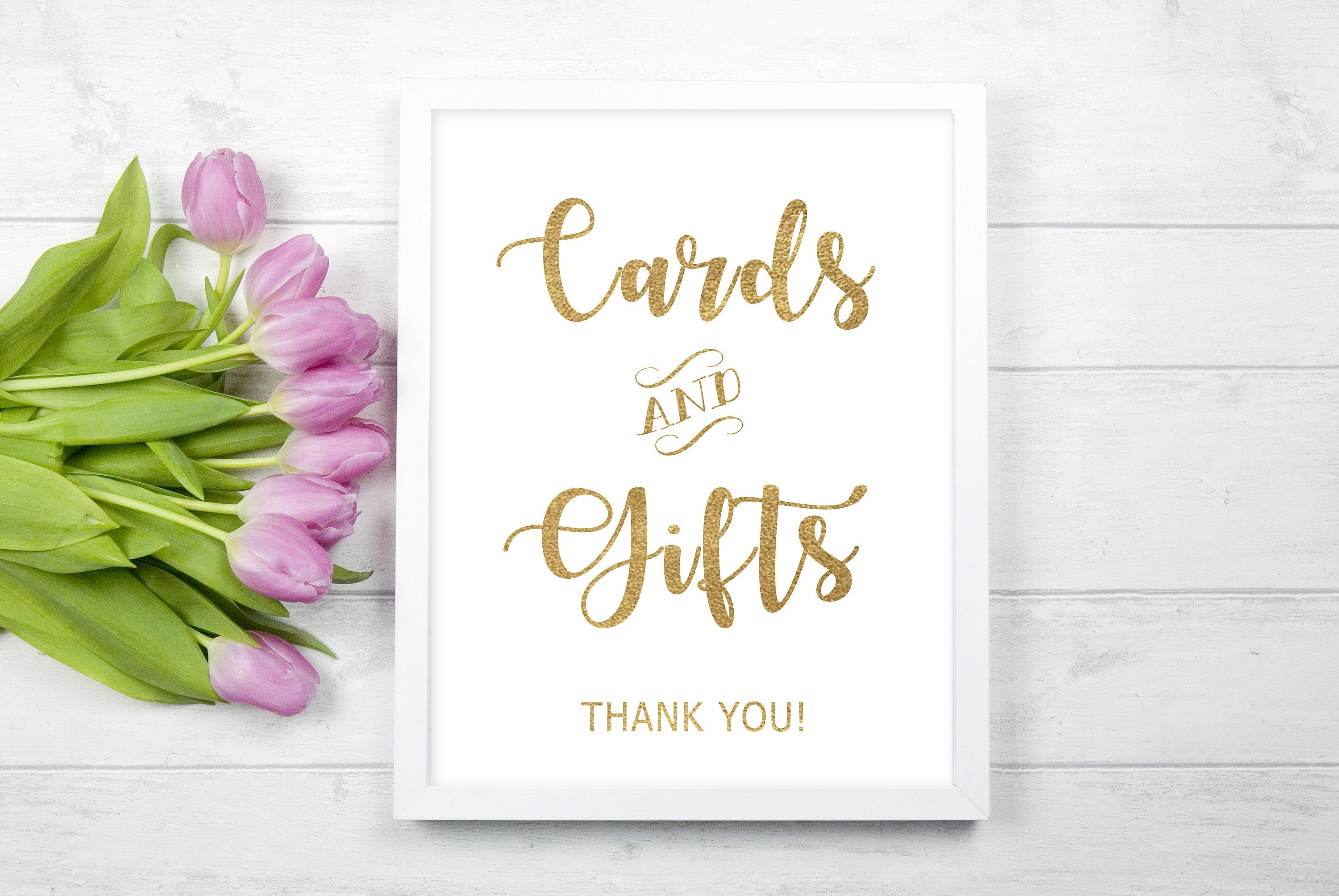 Reception signage Wedding sign in gold foil Cards /& Gifts wedding print