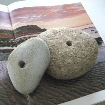 How To Drill Holes In Beach Stones