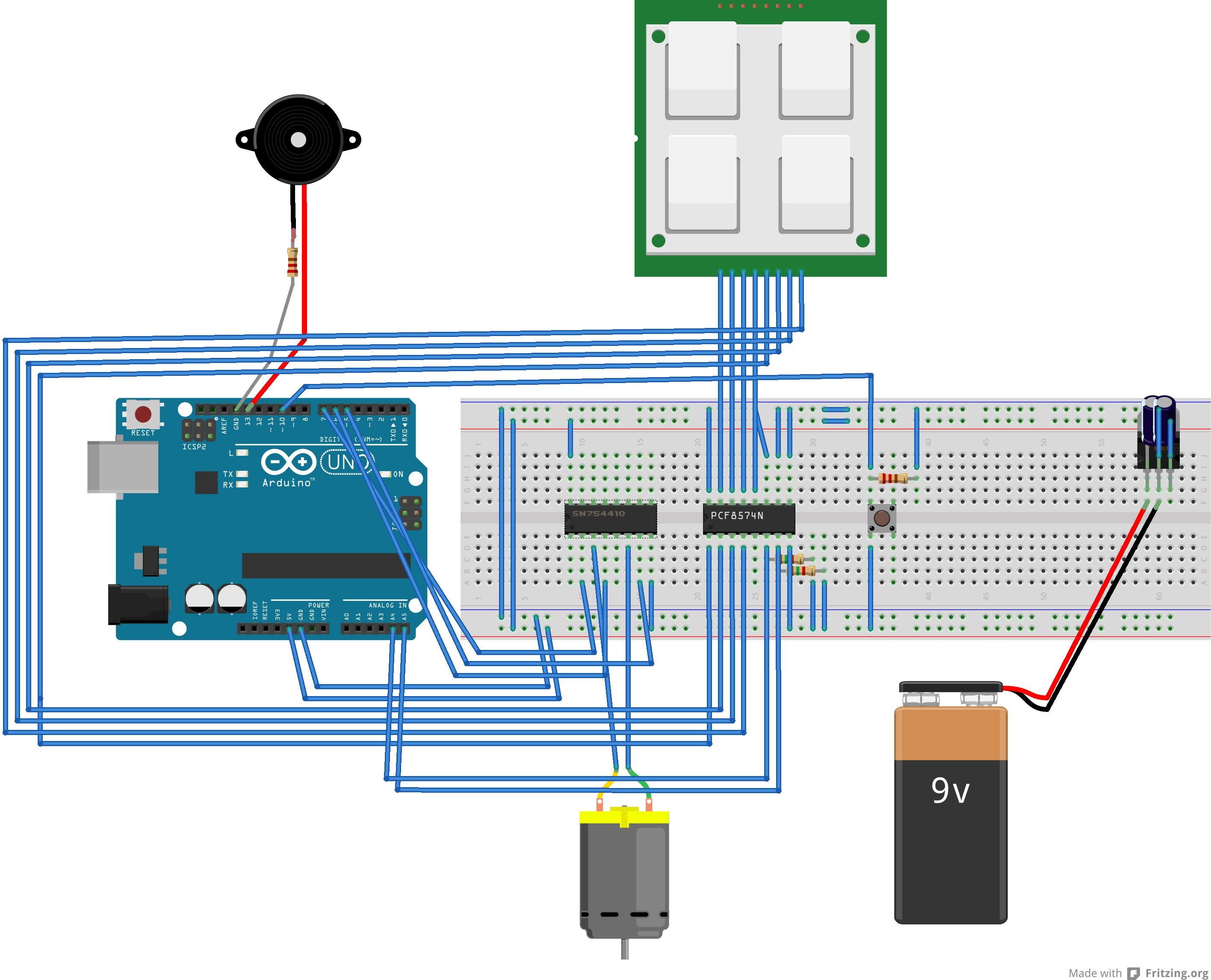 keypad door automation with an arduino uno arduino. Black Bedroom Furniture Sets. Home Design Ideas
