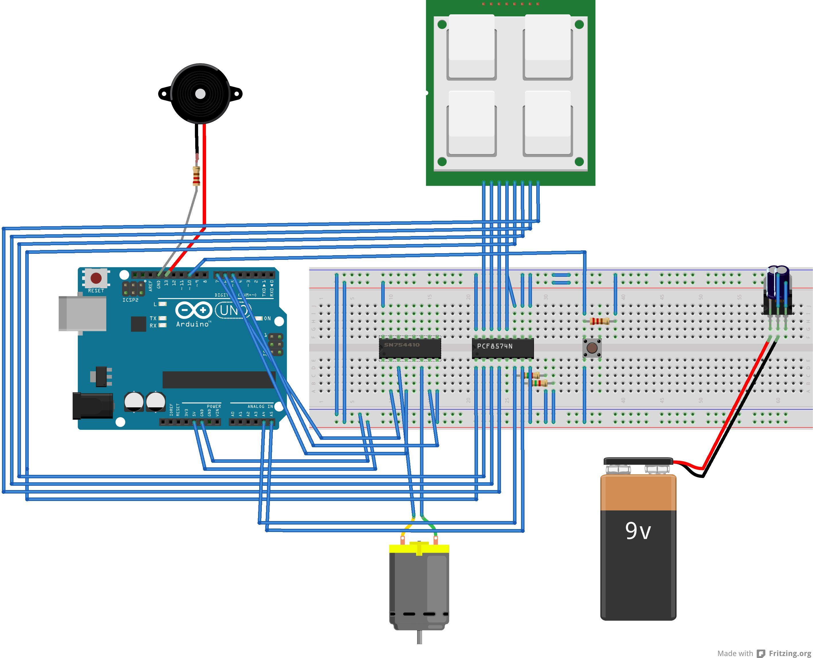Keypad door automation with an Arduino Uno Arduino, Tech