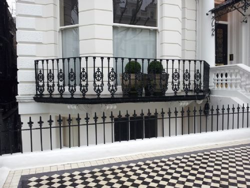Cast Iron Roof Terrace Railings Google Search Terrace Roof