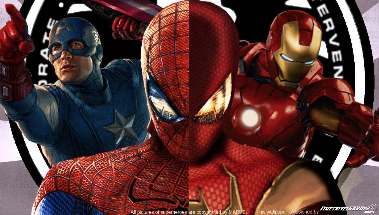 Marvel Civil War Wallpaper HD Wallpapers Pinterest