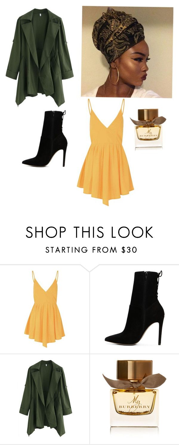 """""""Untitled #24"""" by starr-gorgeous ❤ liked on Polyvore featuring Glamorous, ALDO and Burberry"""
