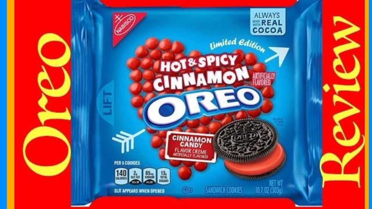 Oreo Hot Spicy Cinnamon Flavor Cookies Review Oreo