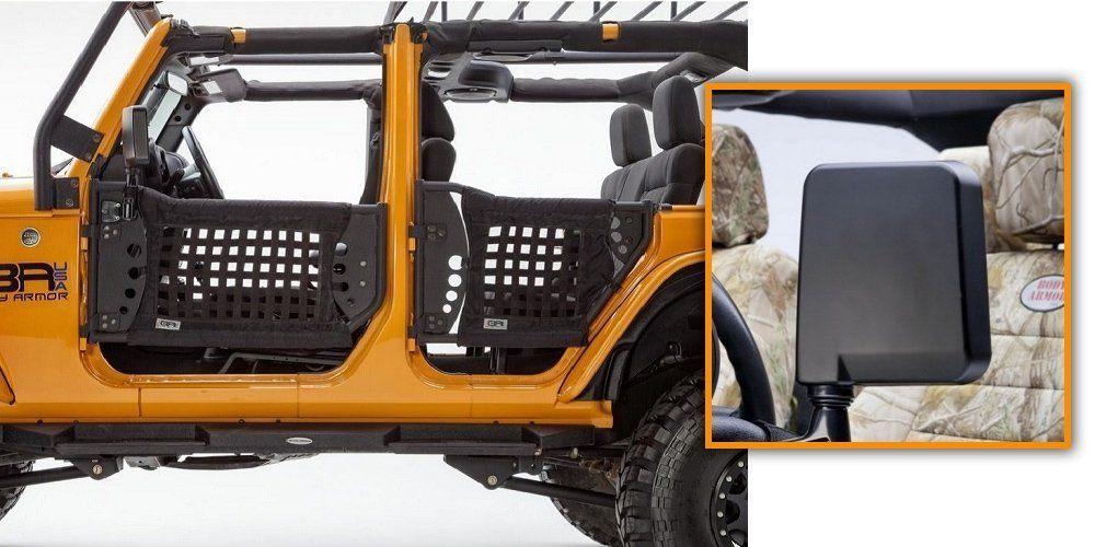Amazon Com Body Armor Complete Set Of 4 Trail Doors 2 Trail