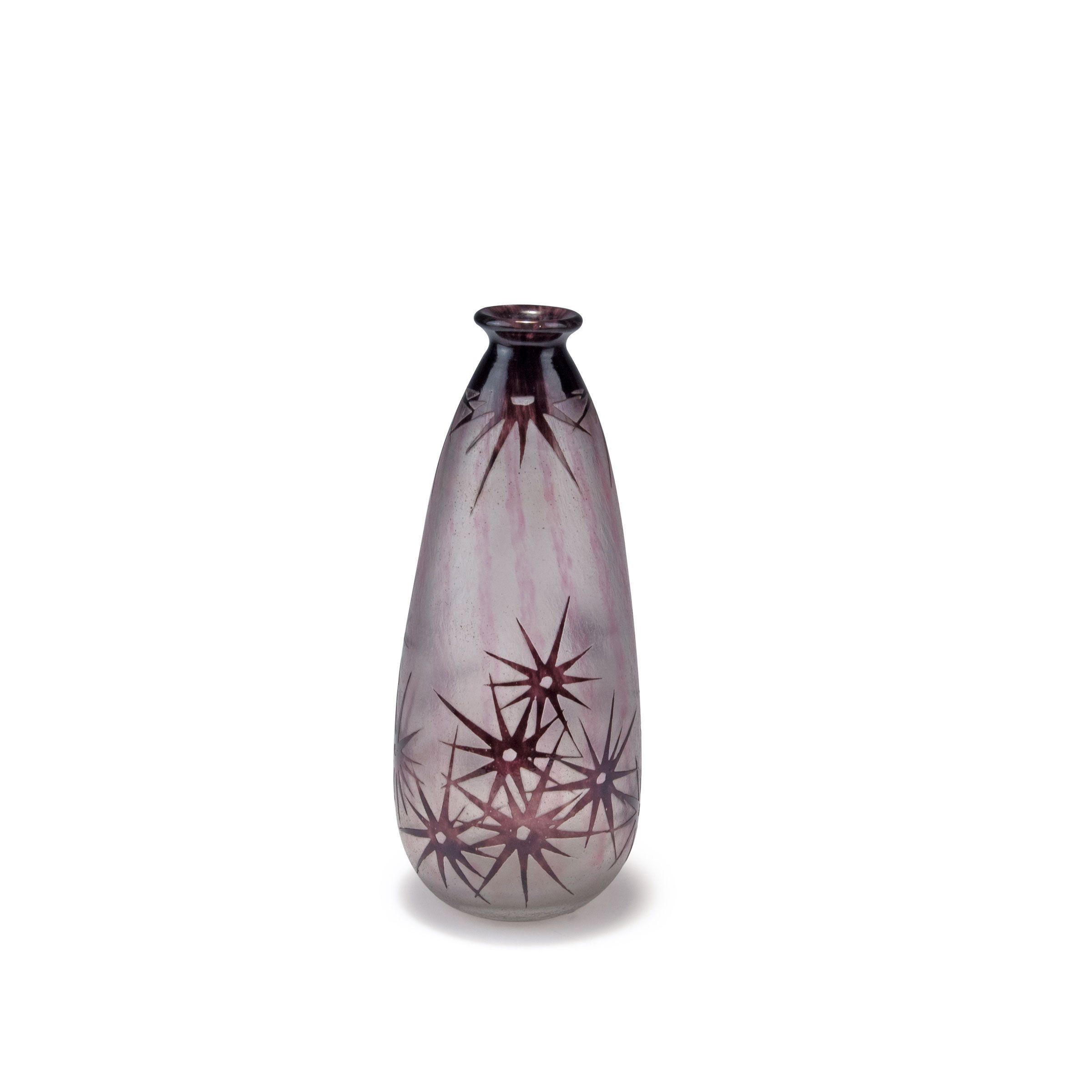 Lot 117A238 - 'Etoiles' vase, 1918-21 Schneider, Epinay-sur-Seine -> Auction 117A - Text: english Version