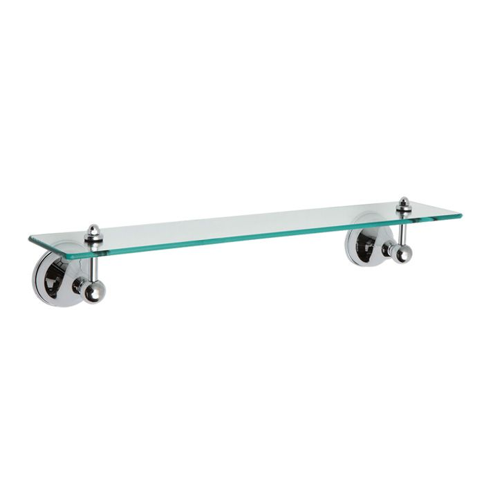 Top quality bathroom accessories - PANAMA VANITY GLASS SHELF CHROME ...
