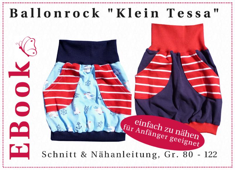 """EBook Ballonrock """"Klein Tessa"""" (Gr. 80 - 122)  von winfine auf DaWanda.com"""