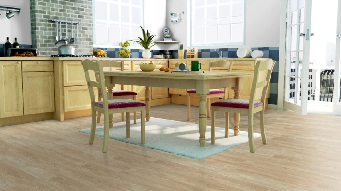 Coretec Plus Ivory Coast Oak Waterproof Wpc Vinyl Flooring
