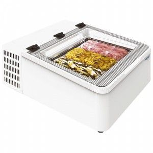 The Framec Minicream3v Countertop Scoop Ice Cream Display