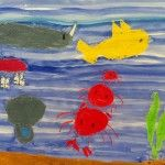 We made imaginary journey under the sea and look what we found!