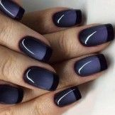 Gorgeous Gel Nail with Black Designs to Look Beautiful on Your Big ...