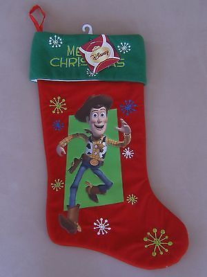 Disney Woody Christmas Stocking Buzz Lightyear Merry 17 5 Pixar Toy Story Tree Christmas Stockings Disney Christmas Stockings Disney Christmas