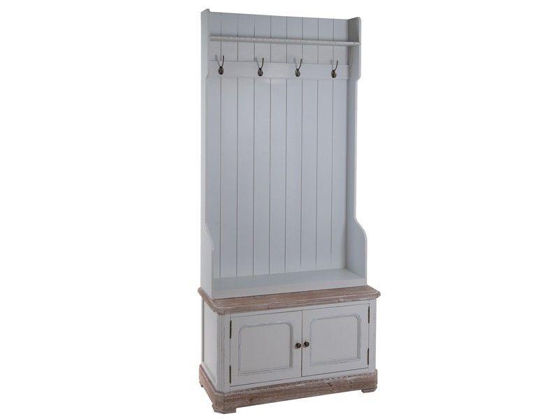 Mueble perchero recibidor vintage daphne deco - Muebles de entrada vintage ...