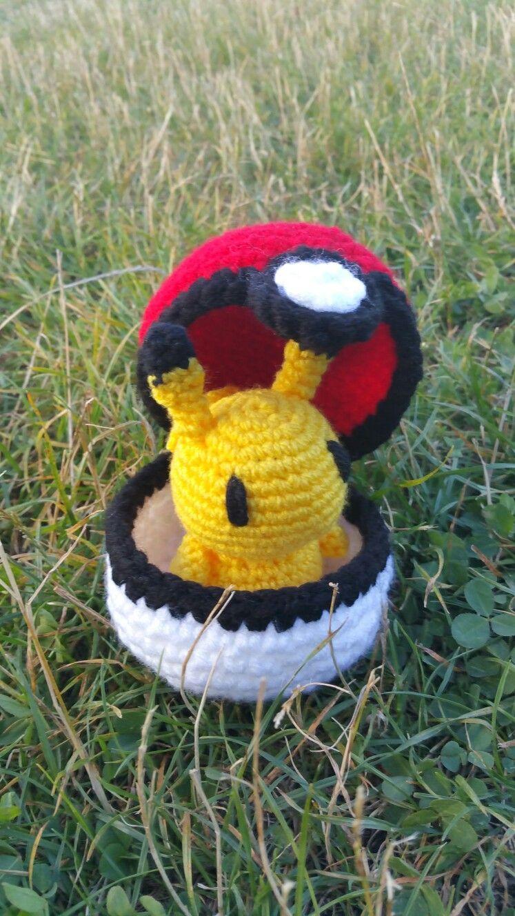 Crochet Pikachu