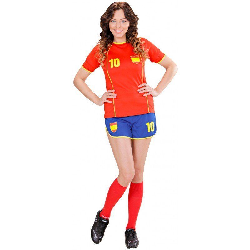 Fussballerin Fan Girl Spanien Set In 2019 Fashion Latest