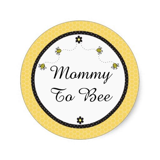 Cute Bumble Bees Stickers Mommy To