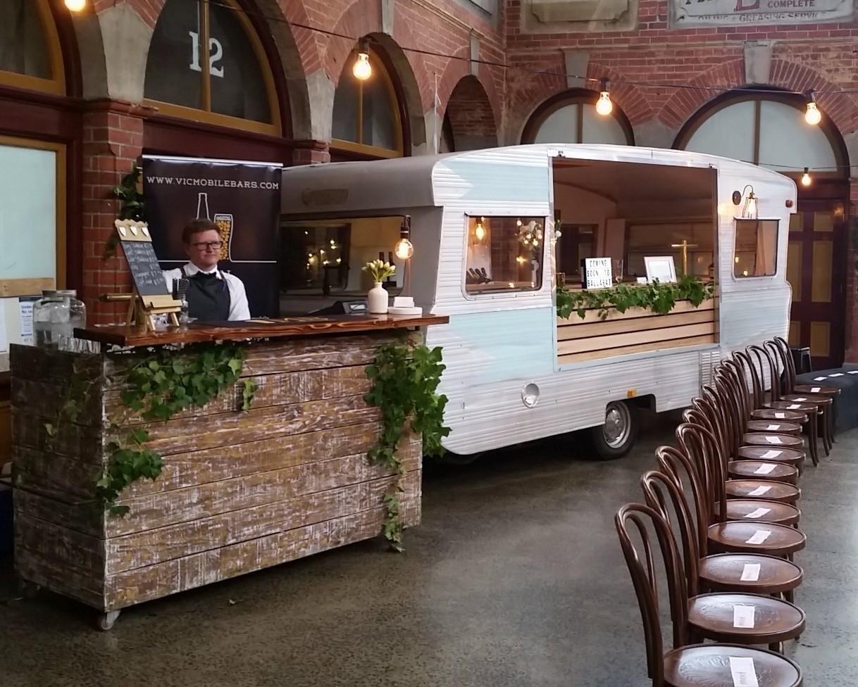 Victorian Mobile Bar Services Caravan Bar and Mobile Bar