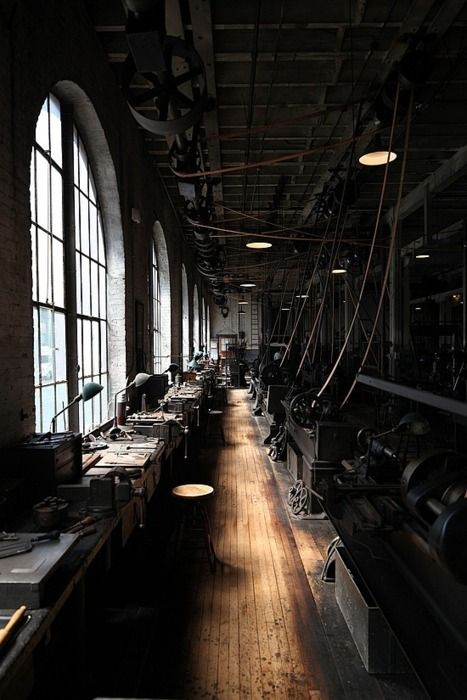 Thomas Edison's Workshop - http://ivorysorrows.tumblr.com/