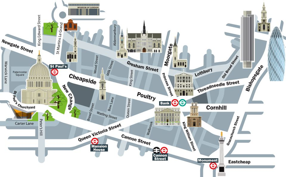 cheapside area map london maps globes pinterest. Black Bedroom Furniture Sets. Home Design Ideas