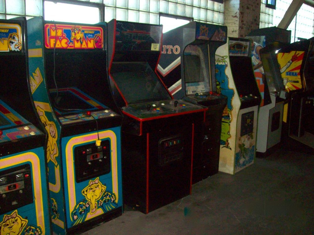 LOT OF 50 CLASSIC ARCADE GAMES . RARE FIND (eBay Link