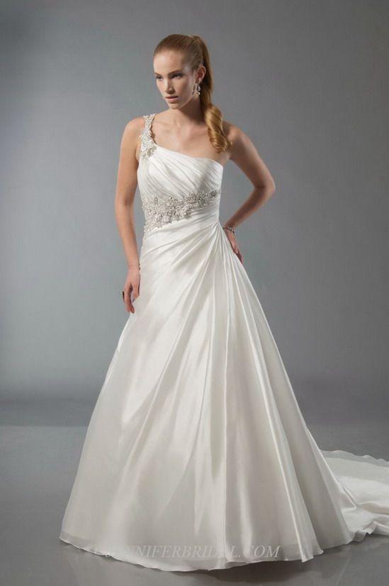 Alfred Sung Bridal Gown Style - 6899 | wedding | Pinterest | Bridal ...