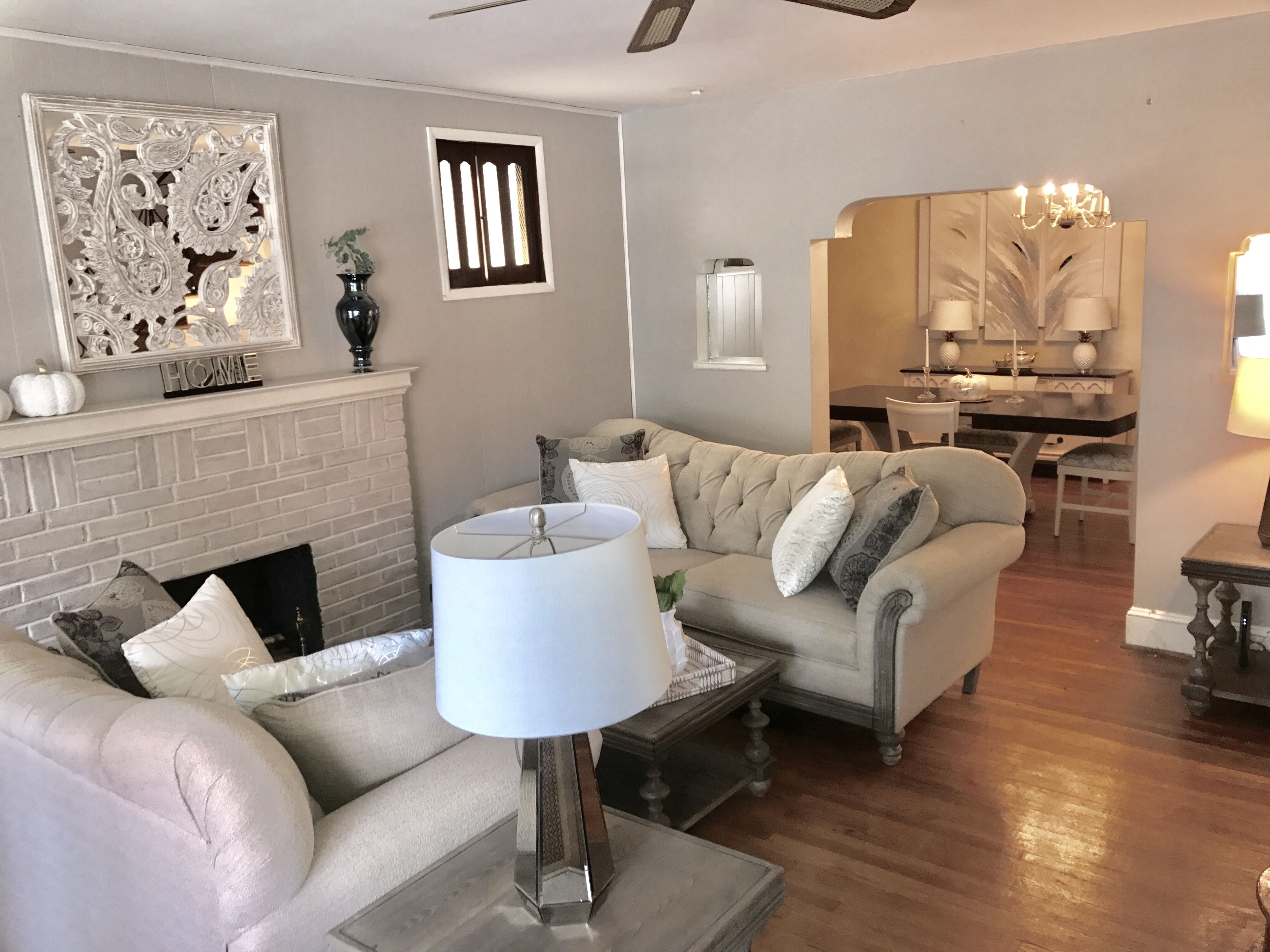 Living room / farmhouse deco / modern farmhouse / country ...