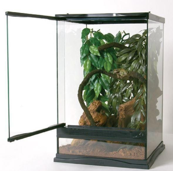 Zoo Med Naturalistic Terrarium Sz X Large Stainless