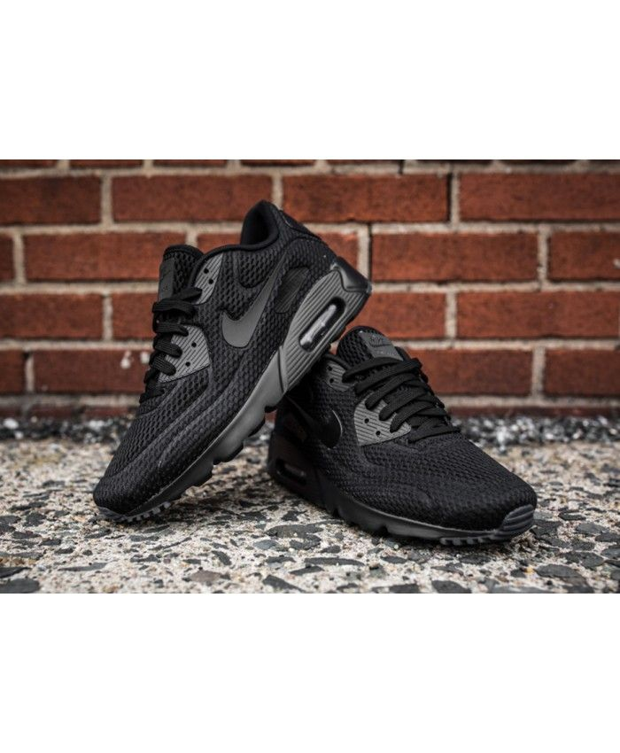 official photos 13b70 aa9bb Nike Air Max 90 Ultra Breathe All Black Shoes Sale Mujeres Nike, Venta De  Zapatos